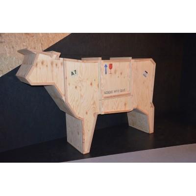 King Home Kredens KROWA - drewno sklejka krowa_sklejka