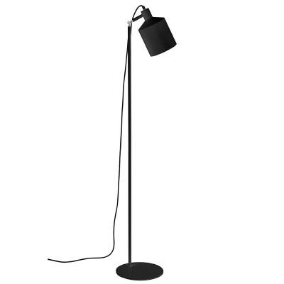 King Home Lampa podłogowa LEKTOR czarna - aluminium XCF7393.BLACK