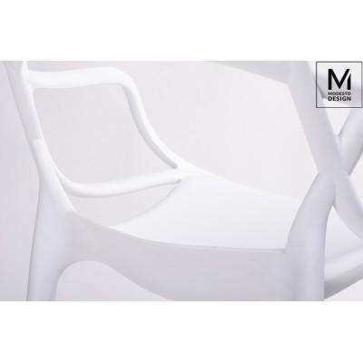 Modesto Design MODESTO krzesło HILO białe - polipropylen PP044.WHITE