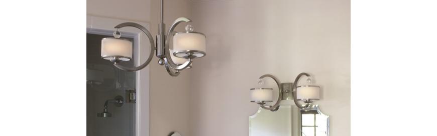 Oświetlenie, oprawy, lampy łazienkowe, sufitowe, kinkiety, plafony